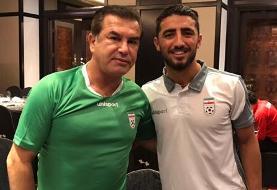 صیادمنش: باشگاه با حضورم در بازى با قطر موافقت نكرد