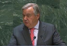 واکنش دبیر کل سازمان ملل به تحولات ایران