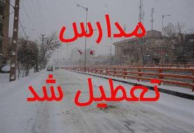 تعطیلی مراکز پیش دبستانی و مدارس ابتدایی در همدان