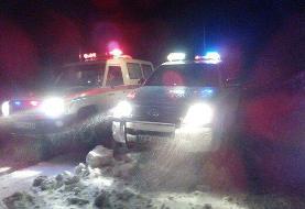 حالت آماده باش شهرستان دماوند به خاطر برف سنگین