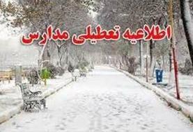 مدارس همدان و بندرلنگه تعطیل شد