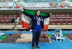 بانوی وزنهبردار: برنز مسابقات ترکیه برایم مدال بزرگی است/ فکر نمیکردم اولین مدال را بگیرم