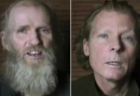 طالبان دو گروگان آمریکایی و استرالیایی خود را آزاد کردند