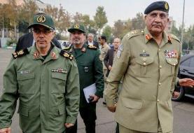 فرمانده ارتش پاکستان با سرلشکر باقری دیدار کرد