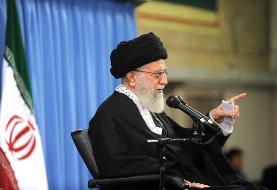 رهبر انقلاب: دوستان و دشمنان بدانند در حوادث امنیتی چند روز اخیر دشمن ...