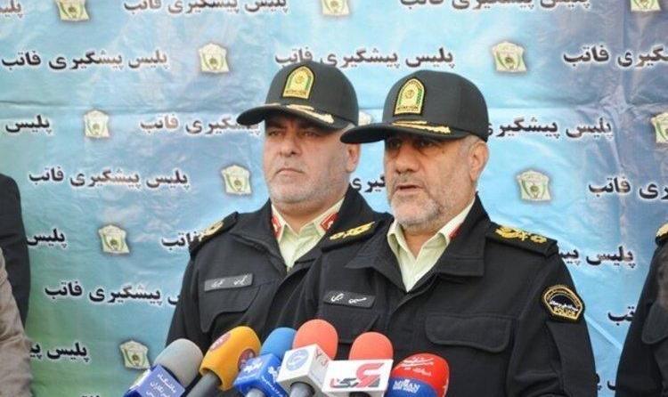 ناجا: سرشاخههای ناآرامیهای تهران بازداشت شدند