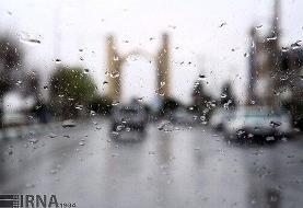 تداوم بارش در محورهای شمالی/ همدان سفید پوش است