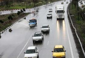 برف و باران در جادههای نیمی از استانهای کشور
