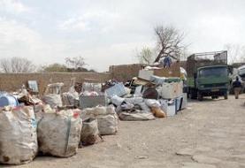 حادثهآفرینی انبارهای زباله خشک در قم