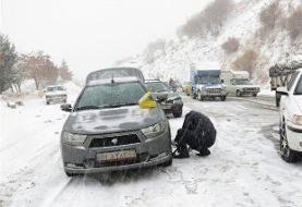 محور سمنان-فیروزکوه  مسدود شد