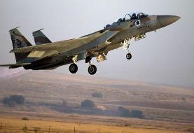 حملات هوایی اسرائیل به مواضع ایران در سوریه