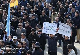 زمان و مکان راهپیمایی های محکومیت اغتشاشات دراستان تهران اعلام شد