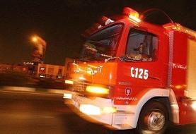 ادامه آتش سوزی ها: آتش سوزی در یک مجتمع تجاری در خیابان اکباتان