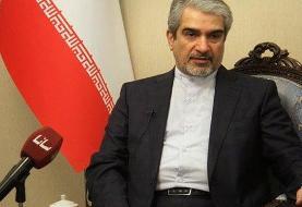 سفیر ایران در دمشق: حکومت ایران دموکراتیک است و ملت حق اعتراض دارند/ در کنار سوریه میمانیم