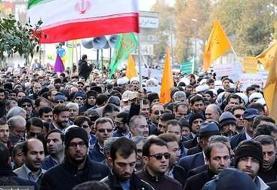راهپیمایی حمایت از مقام معظم رهبری در اردبیل (+عکس)