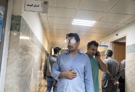 (تصاویر) مجروحان حوادث اخیر تهران