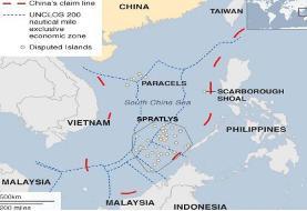 هند خواهان غیرنظامی شدن دریای جنوبی چین شد