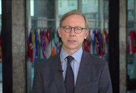 برایان هوک: آمریکا از اعتراضها در ایران خشنود و در کنار مردم است