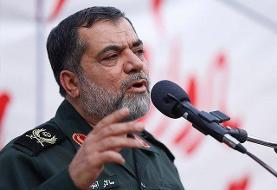 پاسخ فرمانده عملیات بسیج به یک سؤال: دولتی که موشک نقطه زن دارد چرا در معیشت مردم با مشکل مواجه است؟