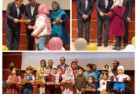 بانک صادرات از ۵۰ کودک و نوجوان برتر مسابقه کتابخوانی «پوپک دانا» تقدیر کرد