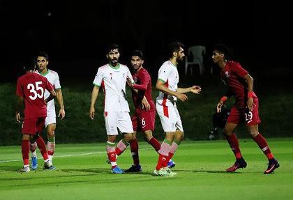تیم فوتبال امید ایران مقابل المپیک قطر هم شکست خورد