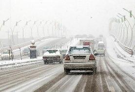 بارش نیممتری برف در ملاده/ استان سمنان از امشب یخ میزند
