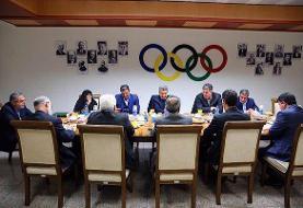 برگزاری هیات اجرایی کمیته ملی المپیک بدون مهمانِ المپیکی