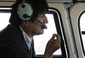 طرح ناکام برای ترور «اوو مورالس» در سقوط بالگرد