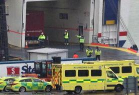۱۶ مهاجر غیرقانونی یک کامیون پلمب شده