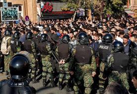 دستگیری ۱۴۰ نفر در خوزستان و اصفهان در رابطه با اعتراضات سراسری