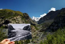 Then and now: Swiss glacier photos show impact of global warming