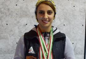 الناز رکابی: فدراسیون کوهنوردی برای حضورم در انتخابی المپیک بودجهای نداشت