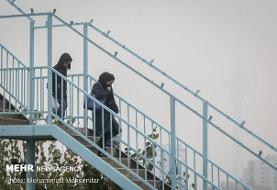 هوای تهران برای افراد حساس ناسالم است/ شاخص امروز ۱۴۵ اعلام شد