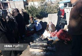 ۶۰ تخته چادر در روستای ورنکش کمپ زده شد