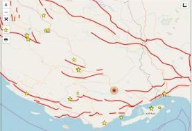 زلزله ۴.۲ ریشتری استان هرمزگان را لرزاند