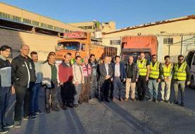 ارسال محموله های کمک باشگاه تراکتور به زلزله زدگان شهرستان میانه
