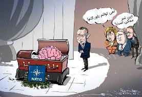 واکنش روسیه به سخنان ماکرون درباره مرگ مغزی ناتو