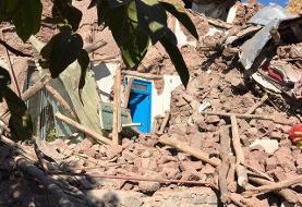 آسیب دیدن بیش از ۲۳۰۰ خانوار در زلزله/ کمبود ماشین آلات برای آواربرداری