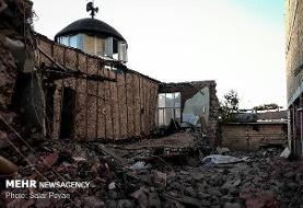 مصدومیت ۳۴۸ نفر در زمینلرزه آذربایجان شرقی