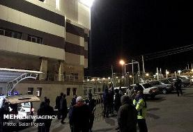 تصاویر | مصدومان حادثه زلزله در بیمارستان میانه