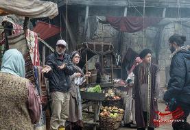(تصویر) پشت صحنه فیلم مست عشق در ترکیه