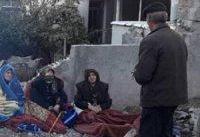 بی&#۸۲۰۴;خانمانی در سوز سرما