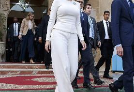 (تصاویر) حاشیههایی از سفر دختر رئیس جمهور آمریکا به مراکش