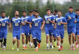 تمرین امروز استقلال به علت اعتصاب بازیکنان تعطیل شد