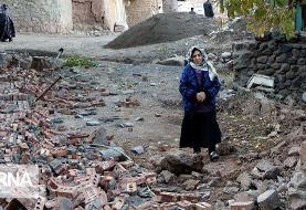 آخرین آمار درباره تعداد آسیب دیدگان زمین لرزه در ایران