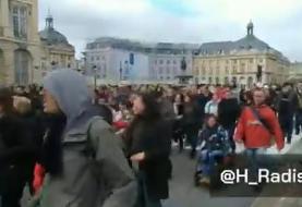 شهرهای فرانسه صحنه تظاهرات معترضان به سیاستهای دولت مکرون شدند