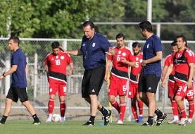 اعلام برنامه تمرینی روز یکشنبه تیم ملی