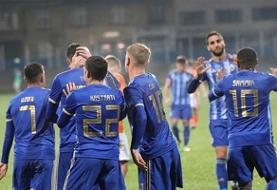 پیروزی لوکوموتیو زاگرب در شب نیمکتنشینی محرمی