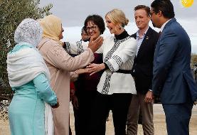 (تصاویر) بوسیدن دست ایوانکا ترامپ در مراکش!