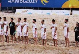 تبریک سخنگوی وزارت خارجه به  تیم ملی فوتبال ساحلی کشورمان
